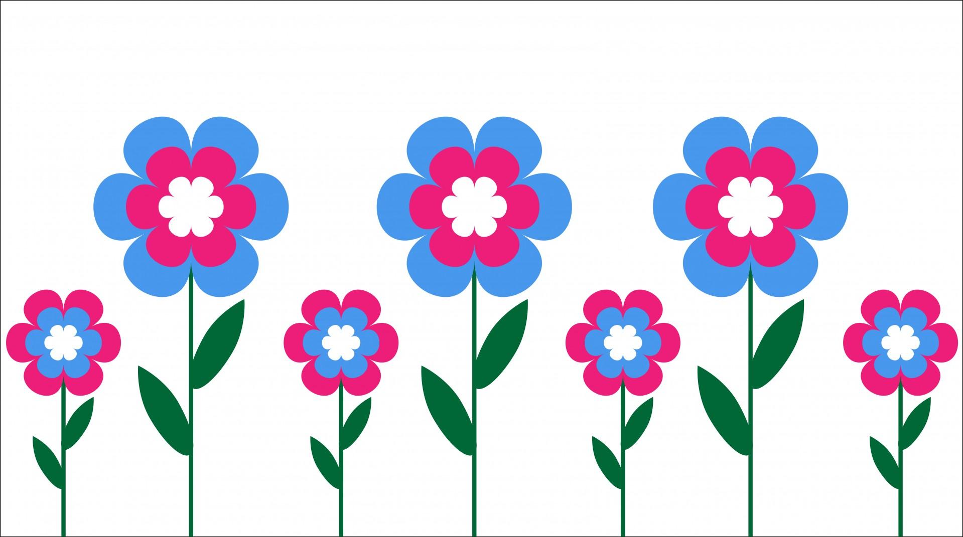 Free flower clip art graphics .