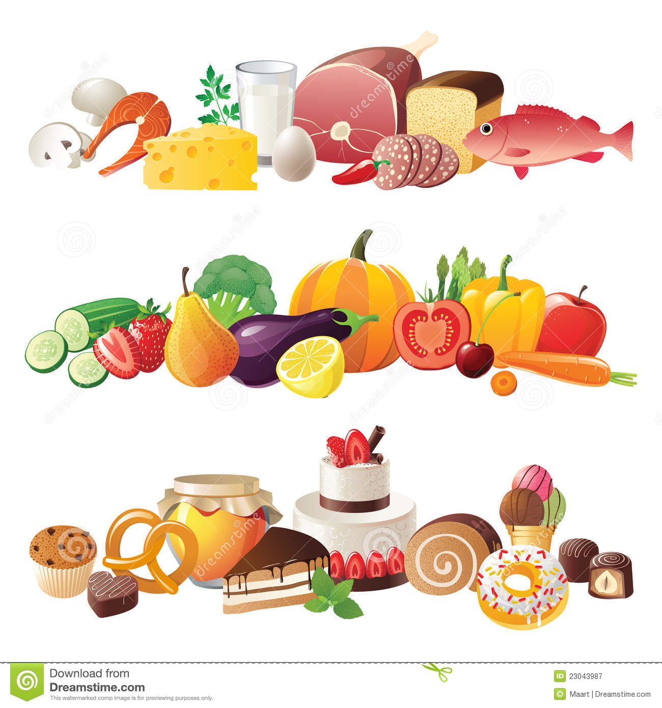 Free Food Borders Clipart - Free Clipart Food