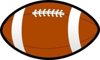 Free football clip art image clipart image