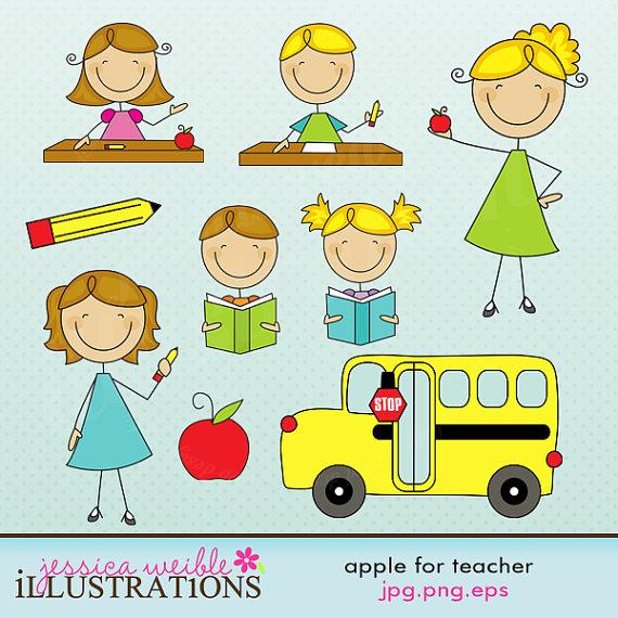 Free For Teachers Cute Clipart .-Free For Teachers Cute Clipart .-7
