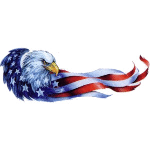 4th of july eagle. Free th clipart