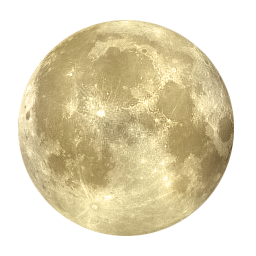 Free Full Moon Clip Art