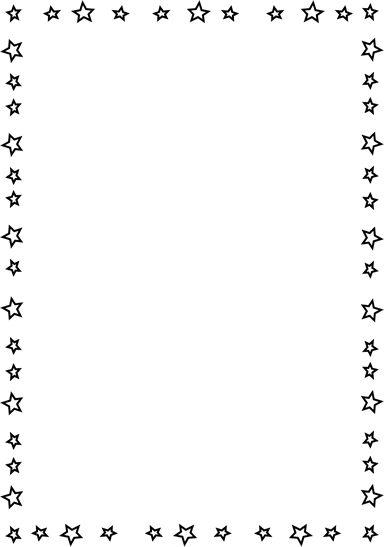 free full page u003cbu003estar bordersu003c/bu003e | Squiggle Page u003cbu003eBorderu003c/bu003e - this is a completely transparent u003cbu003estaru003c/bu003e
