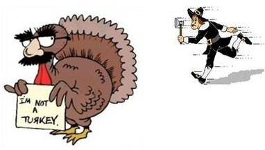 Free Funny Turkey Clipart. Advertising. Funny Thanksgiving Supper Eat .