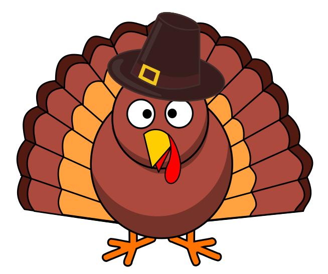 Free Funny Turkey Clipart