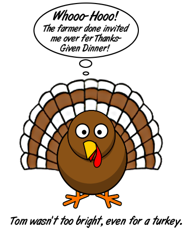 Free Funny Turkey Clipart
