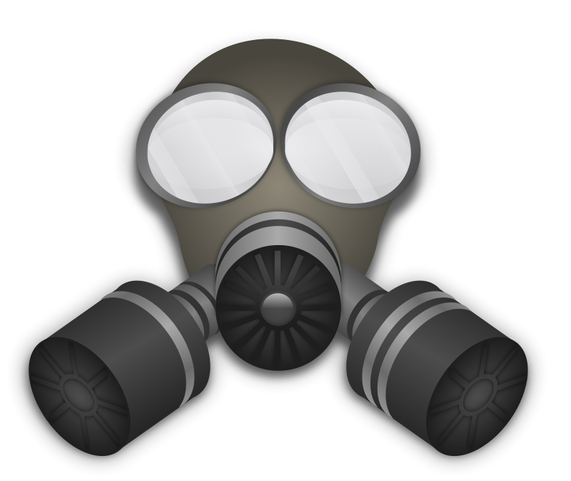 Free Gas Mask Clip Art