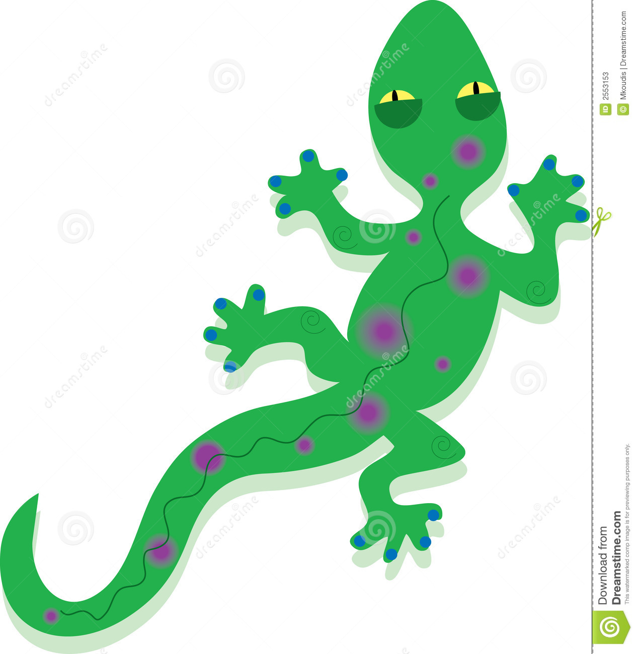 Free Gecko Clipart ... Resolution 1266x1300 .