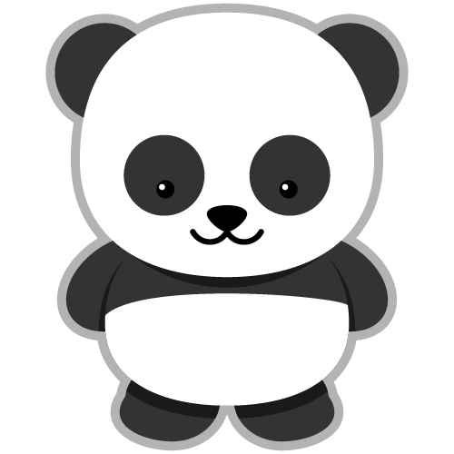 Free Giant Panda Clip Art