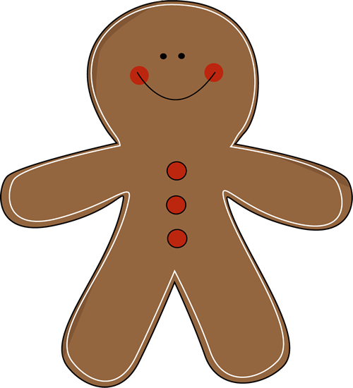 Free Gingerbread Man Clip Art-Free gingerbread man clip art-4