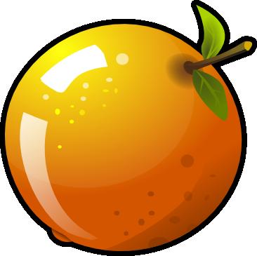 Free Glossy Orange Clip Art u0026middot; orange13