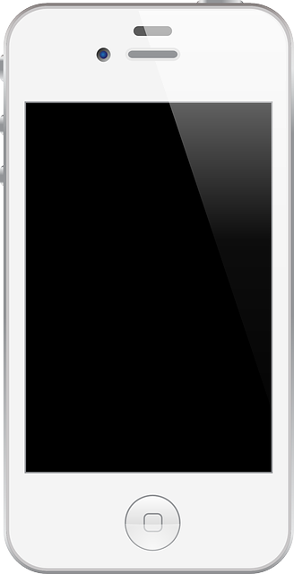 Free Glossy White Smartphone Clip Art-Free Glossy White Smartphone Clip Art-4