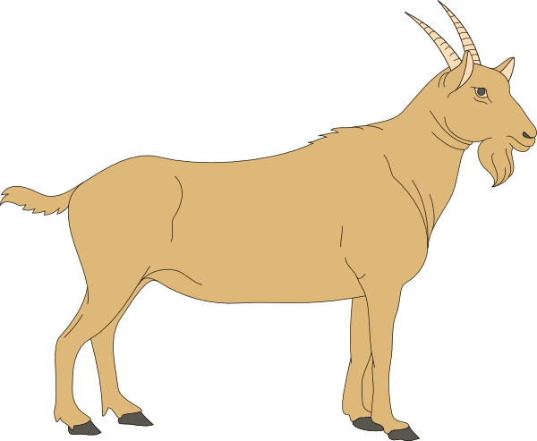 Free Goat Clipart-Free Goat Clipart-5