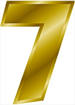 Free Gold Number 7 Clipart Free Clipart -Free Gold Number 7 Clipart Free Clipart Graphics Images And Photos-2