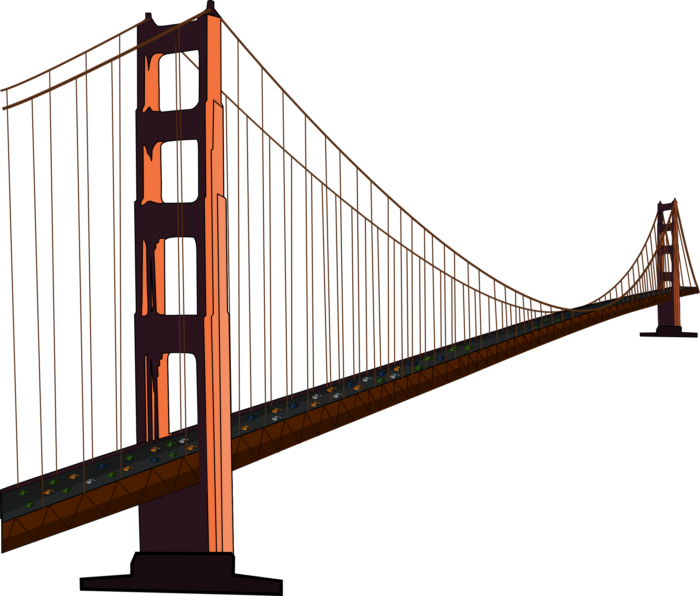 Free Golden Gate Bridge Clip Art