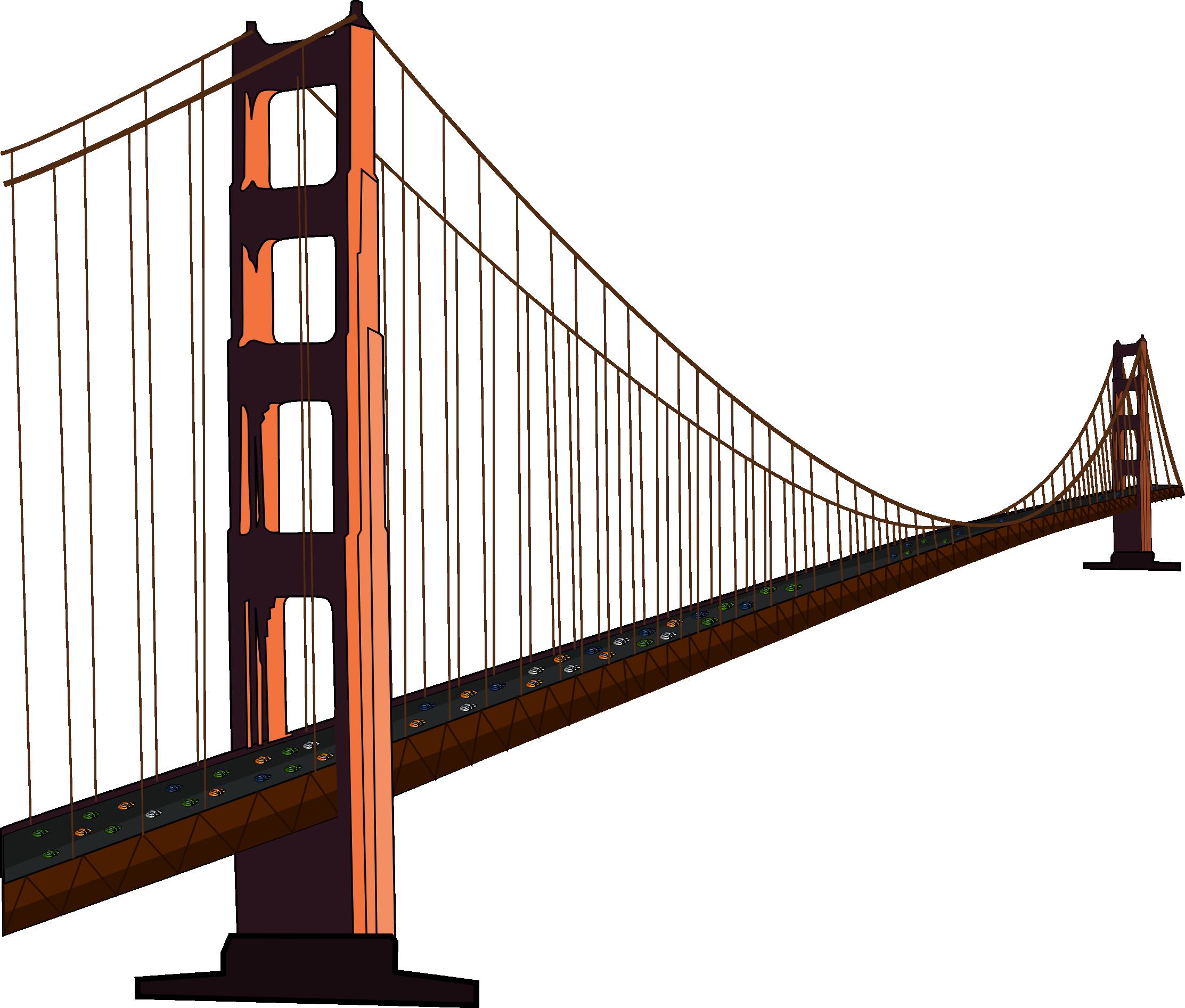 Free Golden Gate Bridge Clip .-Free Golden Gate Bridge Clip .-16