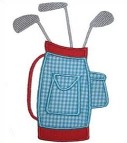 Free Golf Clubs Clipart