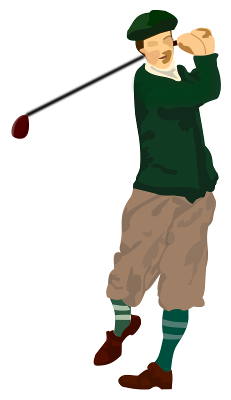 Free Golfer Clip Art