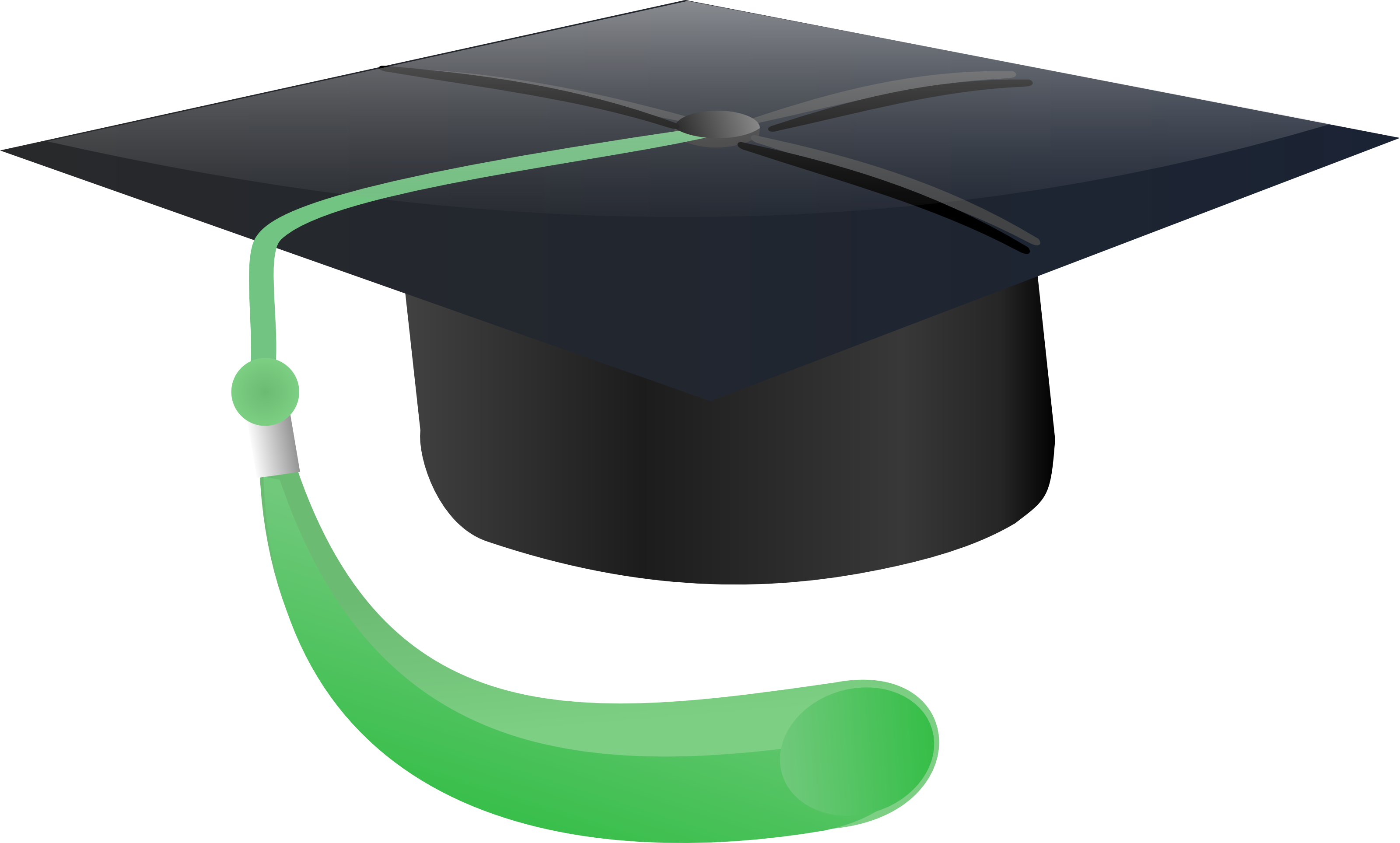 Free Graduation Cap And Gown Clipart