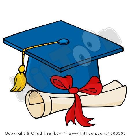 Free Graduation Clipart #1