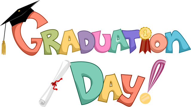 Free graduation clipart .