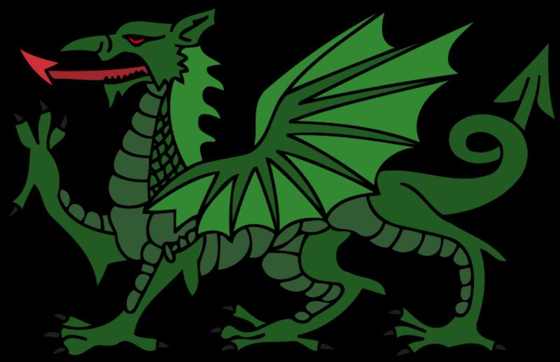Free Green Dragon Clip Art