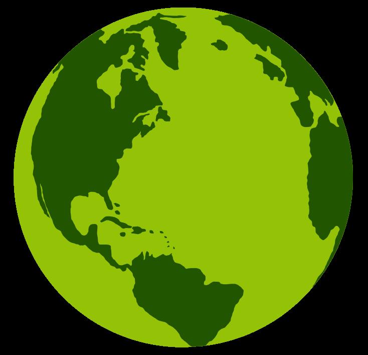 Free Green Earth Clip Art - Clip Art Of Earth