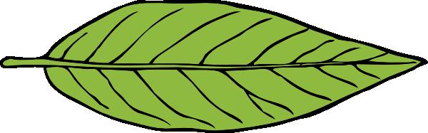 Free Green Leaf Clip Art