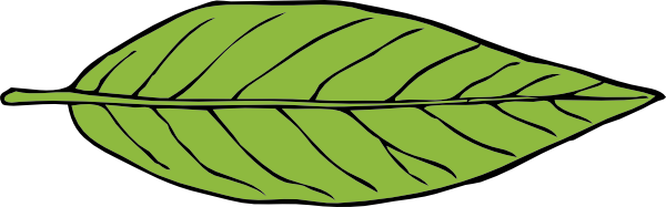 Free Green Leaf Clip Art
