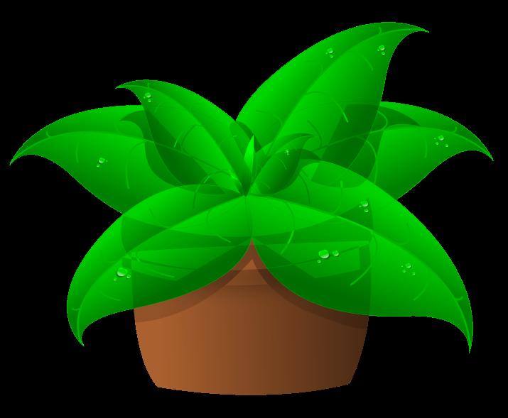 Free Green Plant In Pot Clip Art-Free Green Plant In Pot Clip Art-2