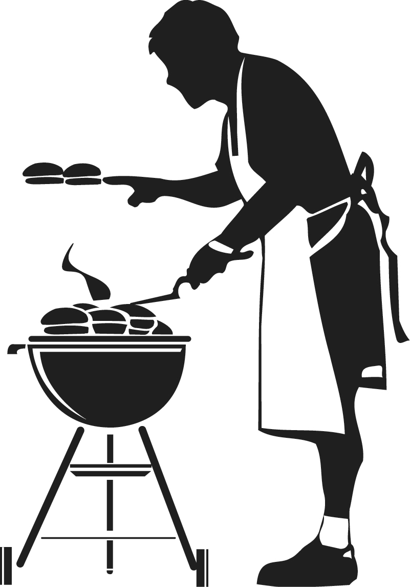 Free Grill Clipart