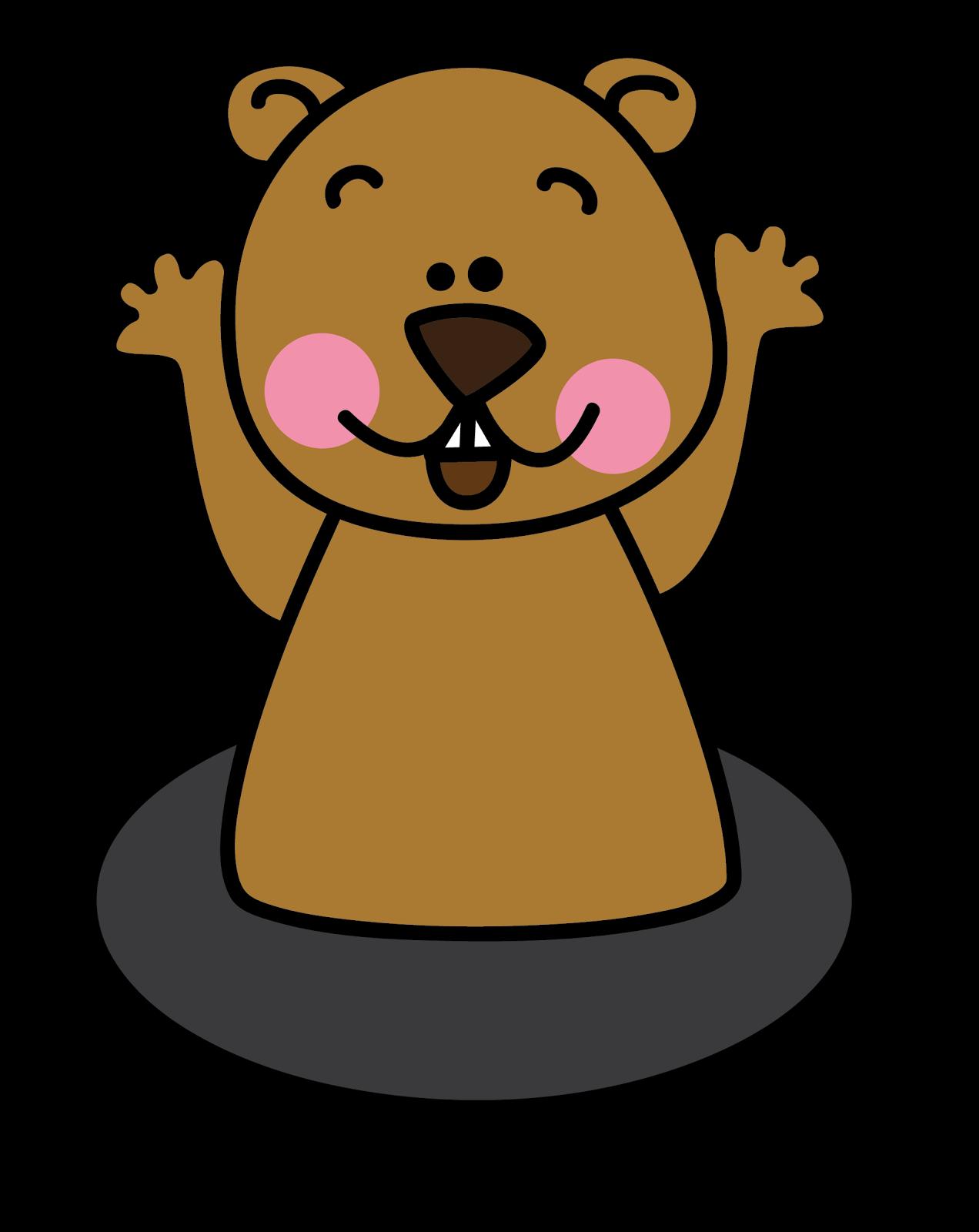 Free Groundhog Clipart-Free Groundhog Clipart-3