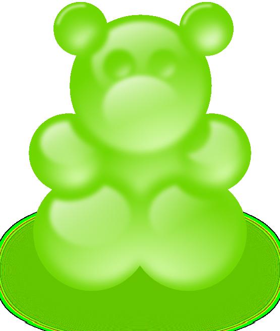 Free Gummy Bear Clip Art