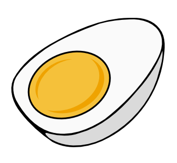 Free Half Boiled Egg Clip Art-Free Half Boiled Egg Clip Art-15