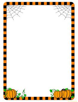 free halloween clip art borders and frames - Bing Images