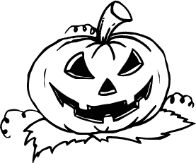 Free Halloween Pumpkins Clipart. Search -Free Halloween Pumpkins Clipart. Search Terms: black and white ...-9