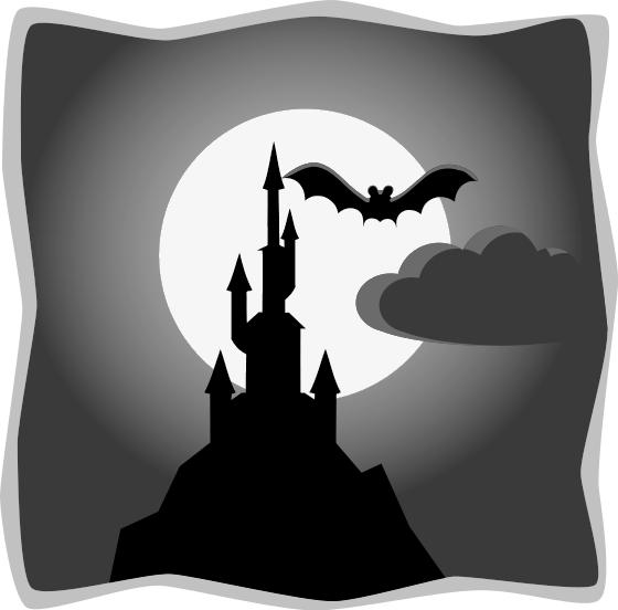 Free Halloween Silhouette .-Free Halloween Silhouette .-8