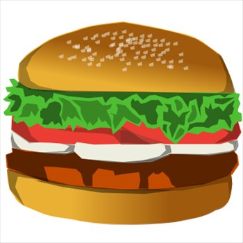 Free Hamburgers Clipart Free Clipart Graphics Images And Photos