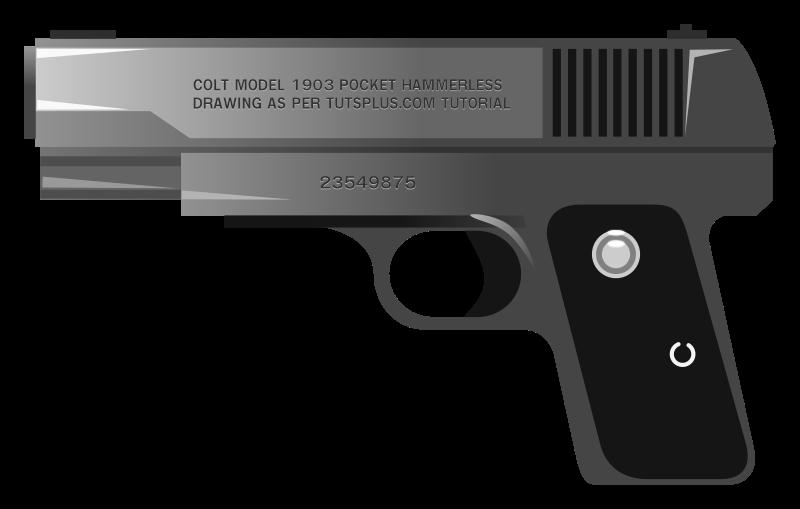 Free Handgun Clip Art-Free Handgun Clip Art-13