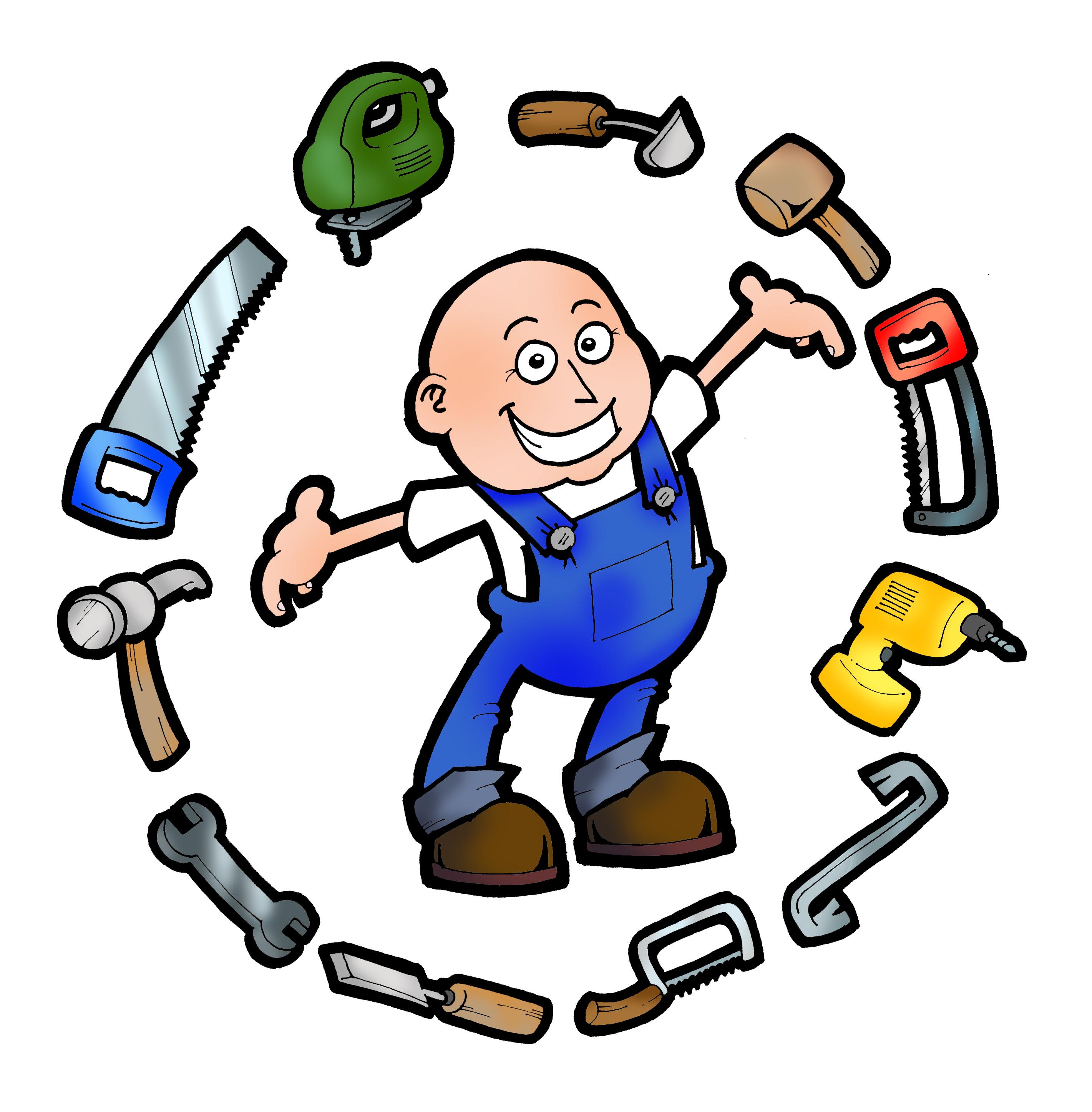 ... Free handyman logo clipart ...