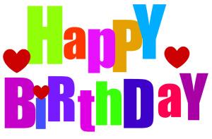 Free happy birthday clip art  - Free Happy Birthday Clipart