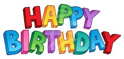 free happy birthday clipart . - Happy Birthday Clip Art