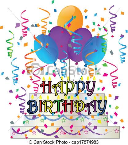 free happy birthday clipart graphics