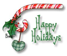 free happy holidays clip art .