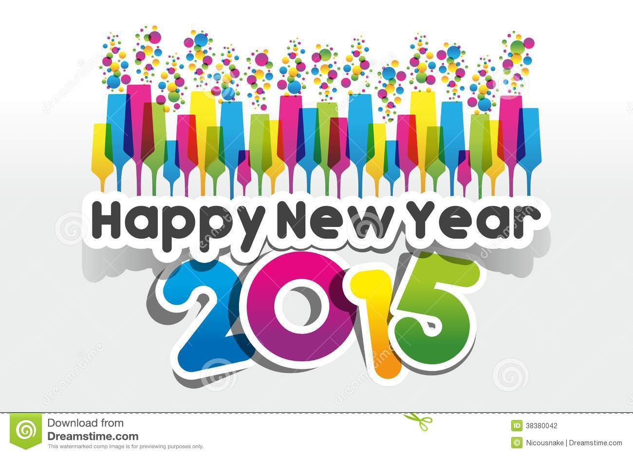 Free Happy New Year 2015 .