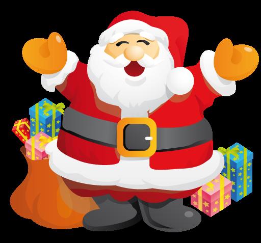 Free Happy Santa Claus Clip Art-Free Happy Santa Claus Clip Art-5