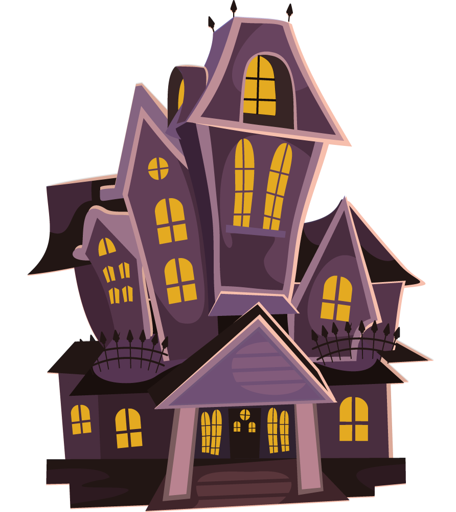 Free Haunted House Clip Art