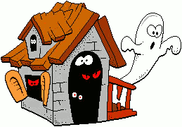 Free Haunted House Clipart - Clipart Haunted House