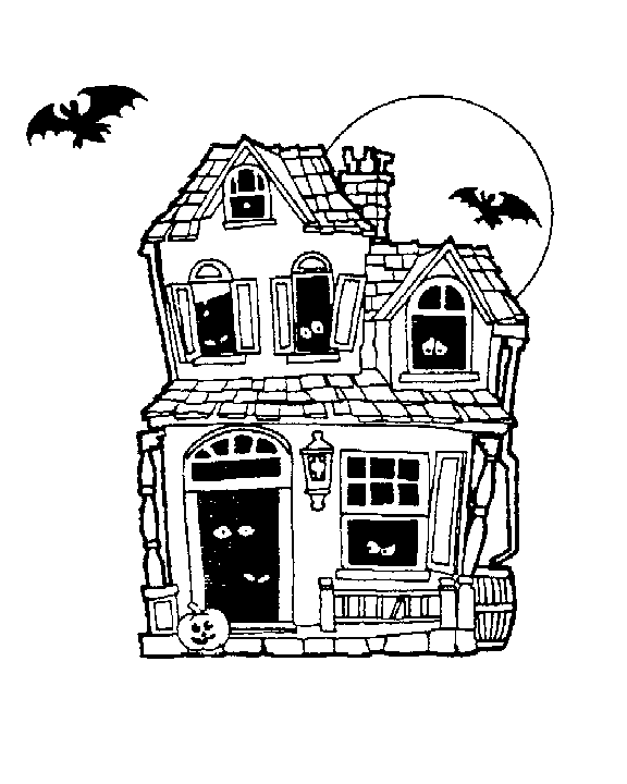 Free Haunted House Clipart-Free Haunted House Clipart-3