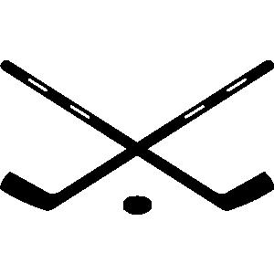 Free hockey clipart 2 image